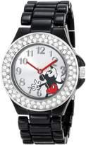 Disney Women's Mickey Mouse Dial Enamel Bracelet Watch MK2074