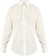 Paul Smith Clubs-print cotton-poplin shirt