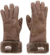 UGG Suede Shearling Gloves