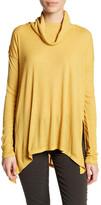 Wild Pearl Long Sleeve Cowl Neck Tunic