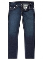 True Religion Geno Navy Slim-leg Jeans