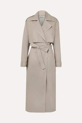 BEIGE ANNA QUAN - Inez Cotton-canvas Trench Coat