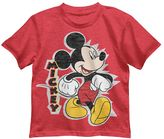 Disney Disney's Mickey Mouse Boys 4-7 Red Tee