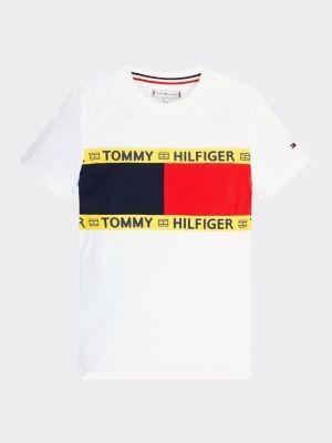 Tommy Hilfiger Repurposed T-shirt met vlaggenprint