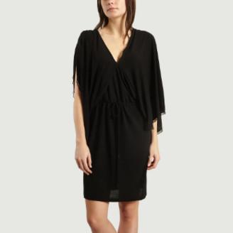 See by Chloe Black Jersey Dress - m | Polyester and elastane | black - Black/Black