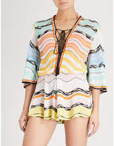 Missoni Striped woven playsuit