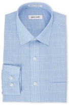 Pierre Cardin Blue Plaid Dress Shirt