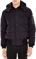 Sandro Hooded Puffer Coat