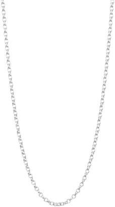 Tamara Comolli 18K White Gold Belcher-Link Chain Necklace