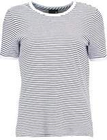 AG Jeans Striped Cotton-Jersey T-Shirt