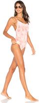 Tori Praver Swimwear Honolua One Piece in Coral. - size S (also in )