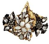 Erickson Beamon 'Milky Way' 24k gold plated brass Swarovski crystal cuff