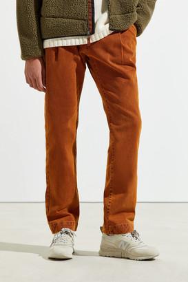 David Catalán David Catalan Classic Pleated Slim Jean