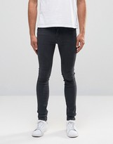 Dr. Denim Kissy Extreme Super Skinny Jeans in Black