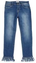 Bebe Girl's Fringe Jeans