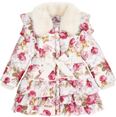 Monsoon Baby Molly Printed Padded Coat