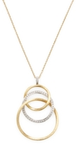 Marco Bicego Jaipur Yellow Gold & Diamond Link Necklace