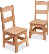 Melissa & Doug Kids' Wooden Chairs