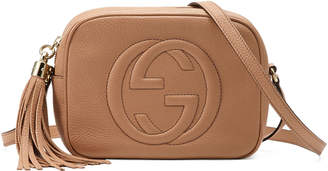 Gucci Soho Small Shoulder Bag, Beige