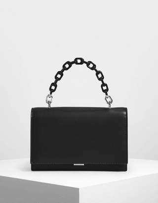 Charles & KeithCharles & Keith Single Chain Handle Push Lock Bag