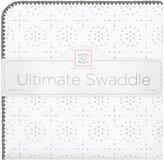 Swaddle Designs Sparklers Ultimate Receiving Blanket - Sterling