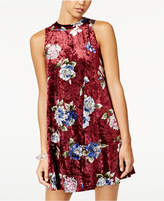 Heart And Soul Juniors' Floral-Print Swing Dress