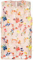 Jason Wu floral embroidered tank - women - Viscose - 4