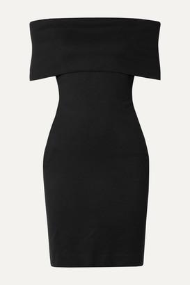Rosetta Getty Off-the-shoulder Stretch-jersey Dress