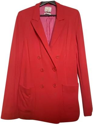 Essentiel Antwerp Red Synthetic Jackets
