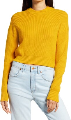 Lulus Huddle Up Knit Pullover Sweater