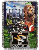 NCAA Missouri Tigers Home Field Advantage College Throw