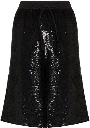 Ashish Sequin Bermuda Shorts