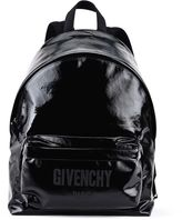 Givenchy Logo Print Ci Backpack