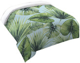 Laural Home Tropical Palm Tree Leaves Duvet Cover, King