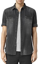 AllSaints Marilla Denim Slim Fit Button-Down Shirt