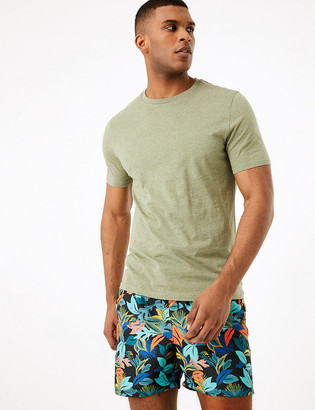 Marks and Spencer Quick Dry Floral Print Swim Shorts