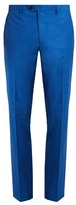Etro Slim-leg cotton-blend trousers