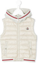 Moncler padded vest - kids - Cotton/Polyamide/Polyamide-8 - 5 yrs