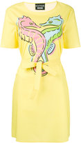 Moschino printed dress - women - Cotton/other fibers - 38