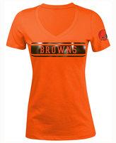 5th & Ocean Women's Cleveland Browns Touchback LE T-Shirt