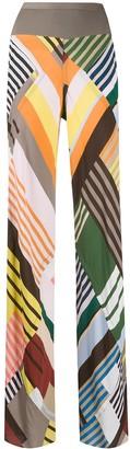 Rick Owens Bias Uxmal Print trousers