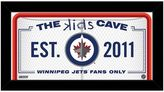 "Steiner Sports Winnipeg Jets 10"" x 20"" Kids Cave Sign"