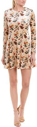Few Moda Velvet A-Line Dress