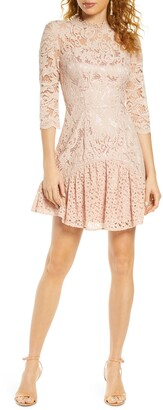 Chi Chi London Emberley Lace Cocktail Dress