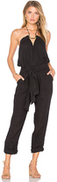 Vix Paula Hermanny Thai Jumpsuit in Black. - size L (also in )