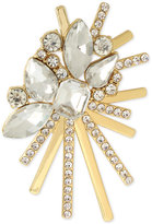 INC International Concepts M. Haskell for Gold-Tone Crystal Cluster Burst Pin, Only at Macy's