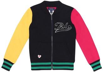 Polo Ralph Lauren Kids Cotton varsity jacket