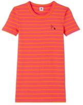 Petit Bateau Womens T-shirt in heritage striped rib