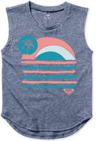 Roxy Graphic-Print Tank Top, Toddler & Little Girls