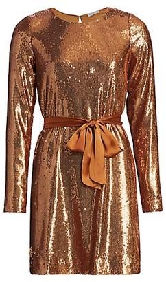 Ramy Brook Hallie Sequin Mini Dress